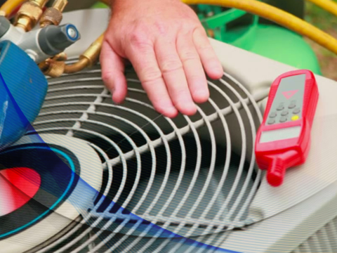 Measuring a refrigerant charge