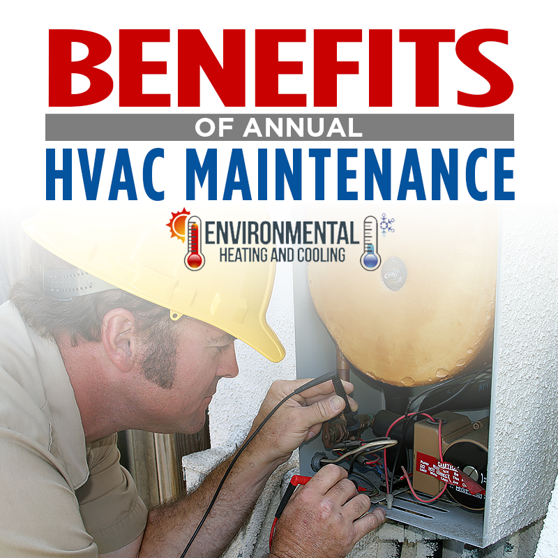 Benefits Of Annual HVAC Maintenance
