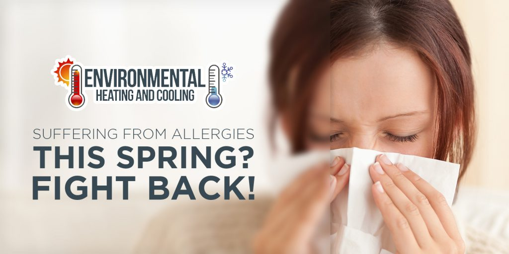 Suffering from Allergies this Spring? Fight Back!